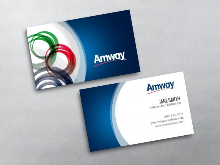 Amway Business Card 01 In 2020
