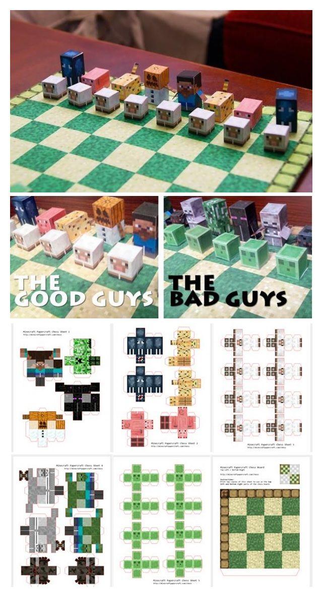Agedres De Minecraft Diy Minecraft Minecraft Crafts Minecraft