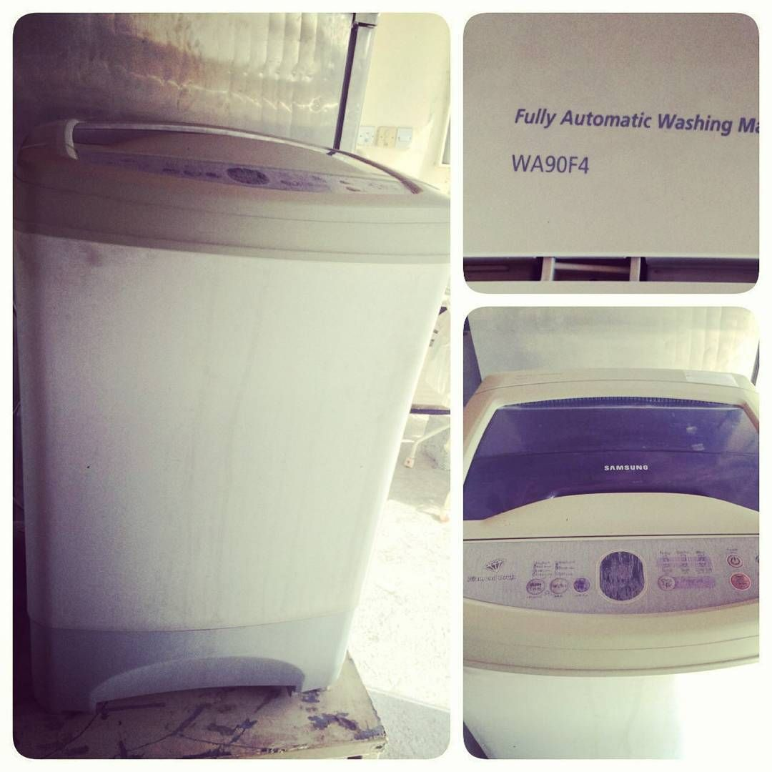 For Sale Samsung Washing Mashing 6 Kg Model Wa90fa Price 35 Bd للبيع غسالة سامسنغ 6 كليو بحالة جيدة ا Laundry Machine Home Appliances Washing Machine