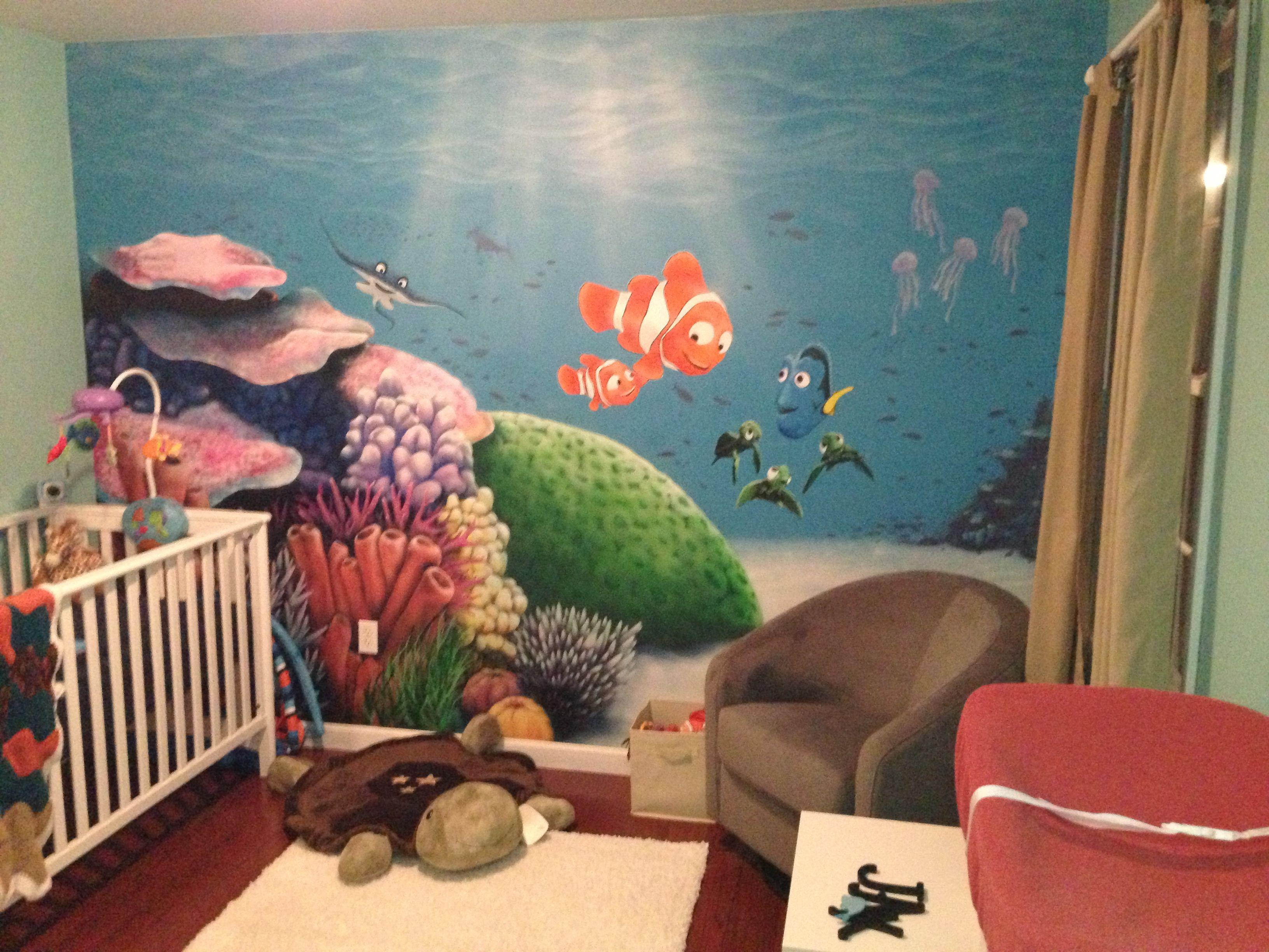 """Nemo"" nursery for Jax"
