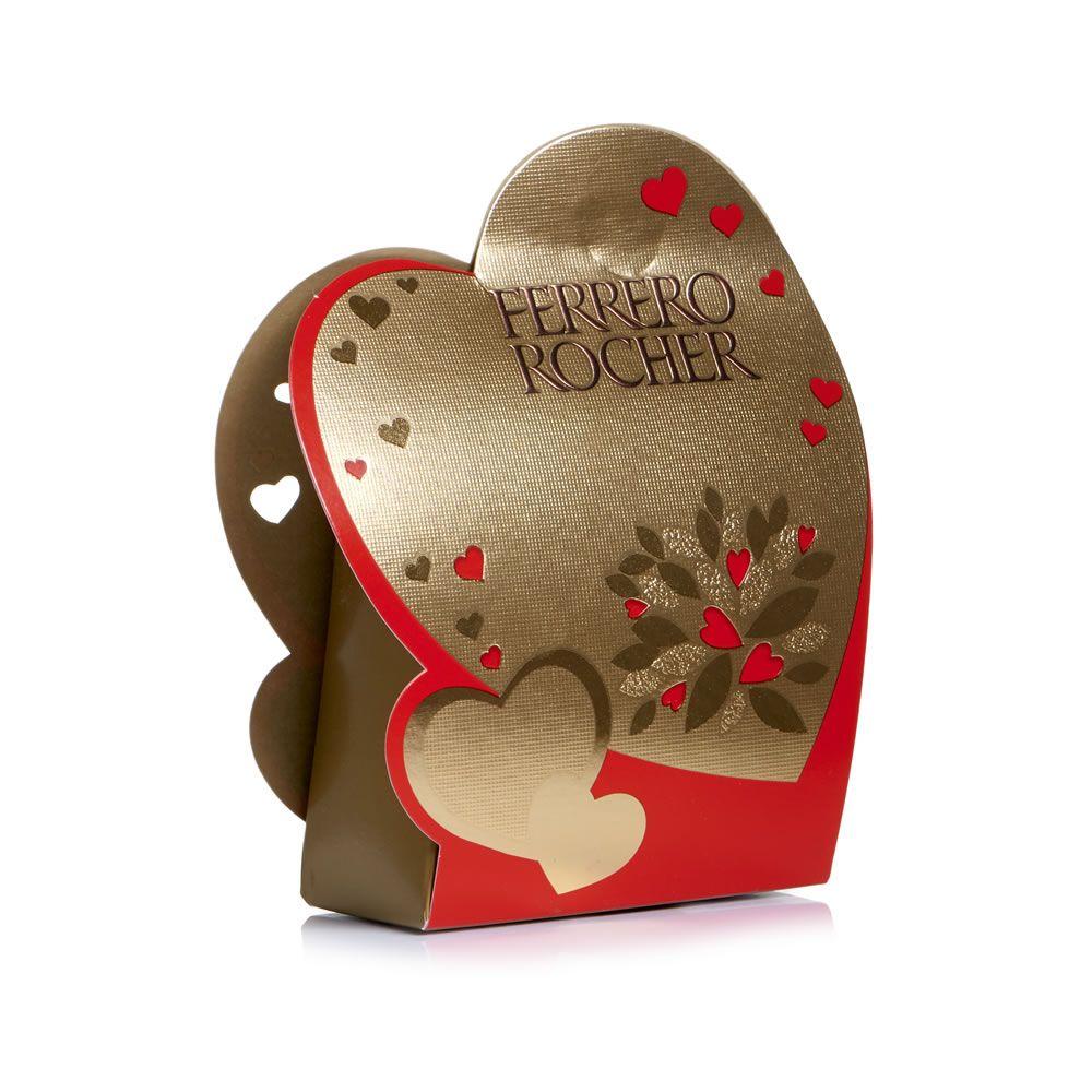 Ferrero rocher t4 heart model 50g wilko valentines day gifts ferrero rocher t4 heart model 50g negle Gallery