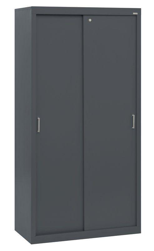 Sliding Door Storage Cabinets 5 Shelf Storage Cabinet Door Storage Storage Cabinet
