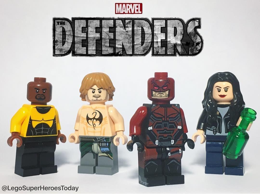 Luke Cage Tv//Film Superheroes Custom Mini Figures