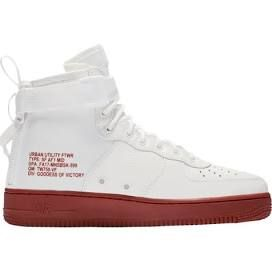 Nike SF Air Force 1 Mid 17 Mens Basketball Shoes Ivory