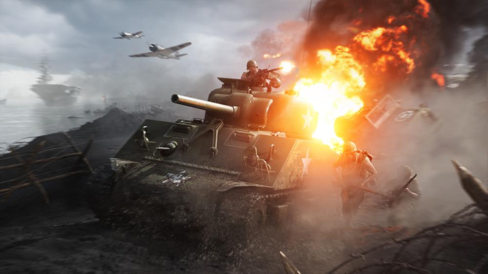 2560x1440 2019 Video Game Battlefield V Tank Fight Wallpaper Battlefield Com Games Trials