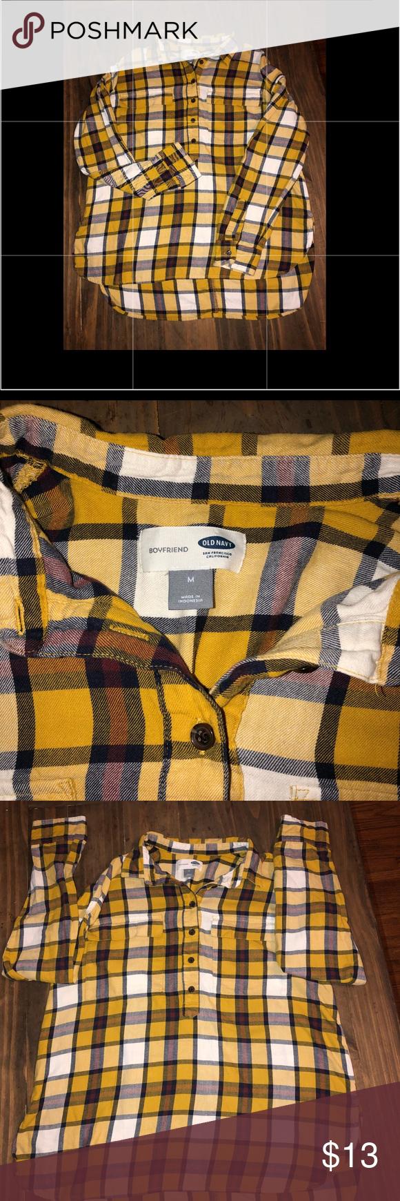 Flannel shirts yellow  Flannel shirt for women  Pinterest