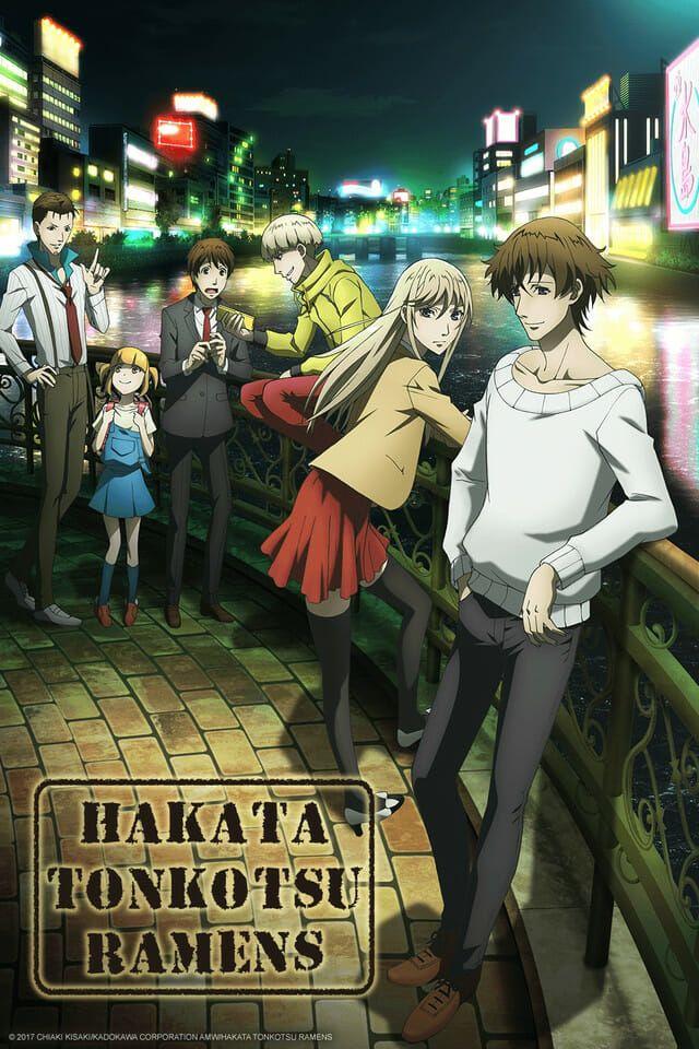"""""""Hakata Tonkotsu Ramens"""" Simulcast Hits Crunchyroll on 1"""