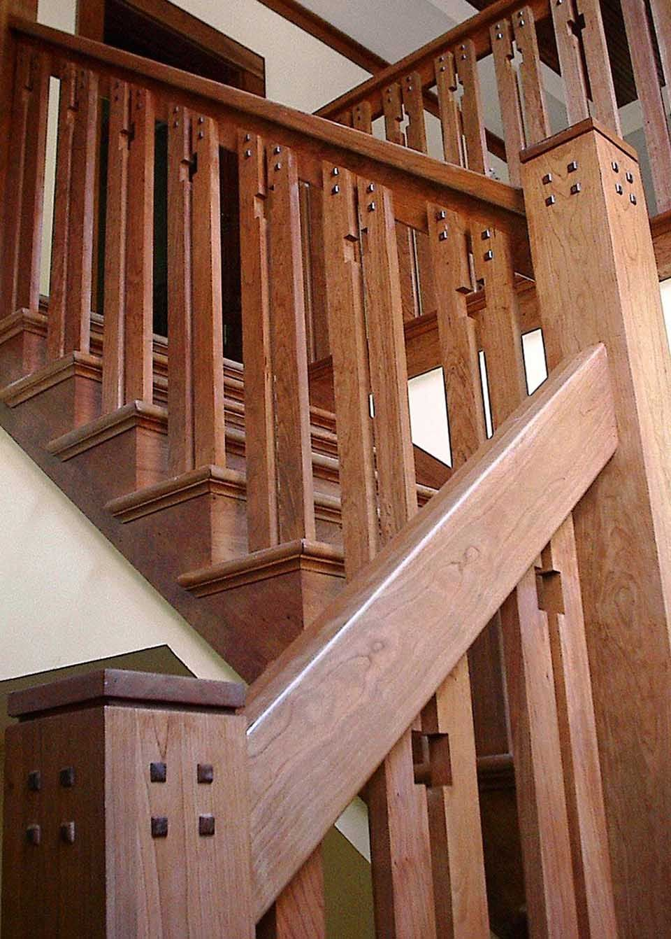 Best Craftsman Staircase Wooden Baluster … Pinteres… 400 x 300
