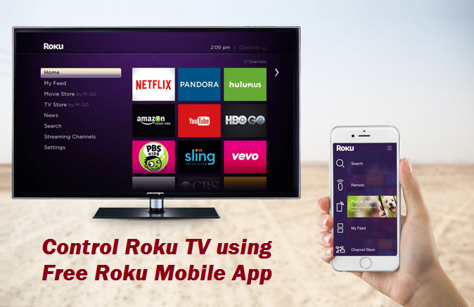 How to use Roku Mobile App to Stream Free Music, Video or