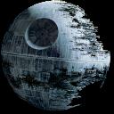 Free Star Wars Clip Art Icons Iconbug Com Star Wars Death Star Star Wars Art Star Wars Room