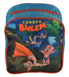 Chhota Bheem & Frns Blue Bag Single Zipper