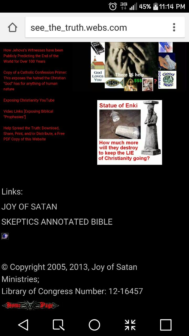 Do You See Any Mention Of Anton Lavey Or Anything About A Satanic