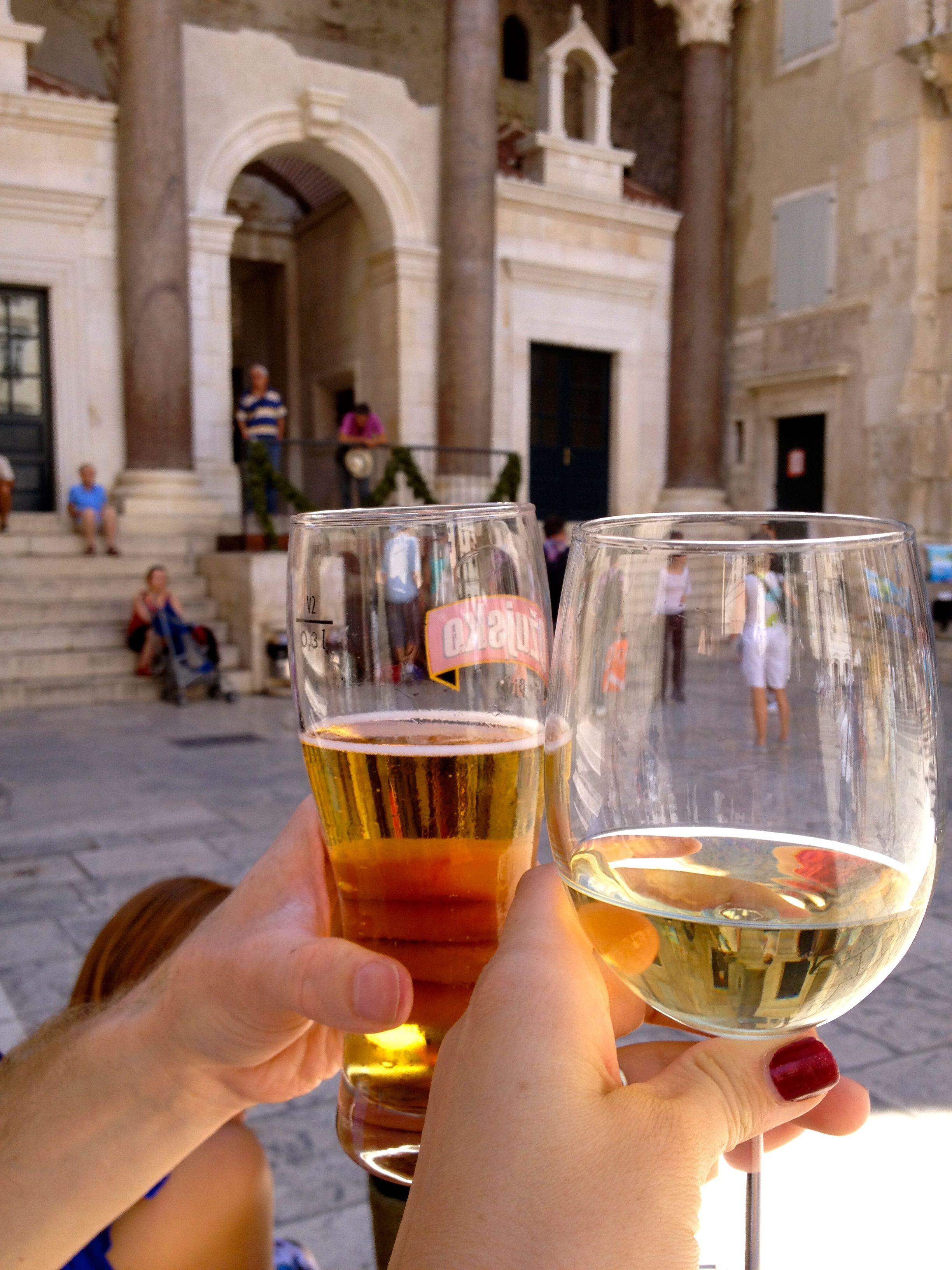 Wine Bar At Dioclesians Palace Split Croatia Croatian Wine Wine Wine Bar
