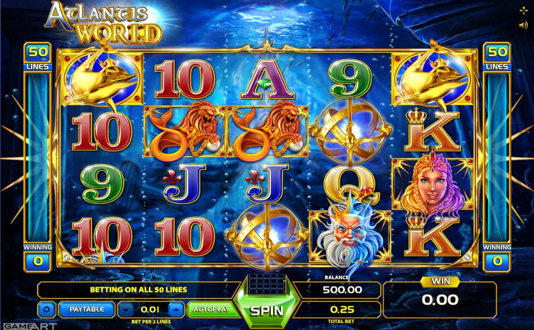 Game Art Online Casino Games