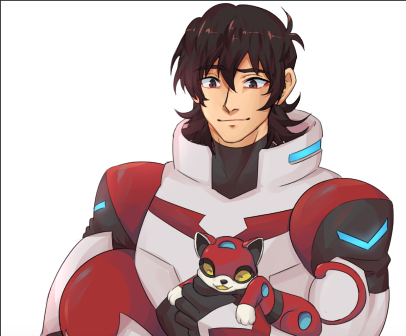 Keith The Red Paladin And Red Lion As A Kitten From