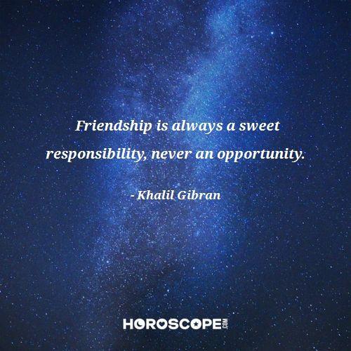 Friendship quote by Khalil Gibran