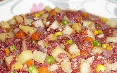 Pinoy Corned Beef with Mixed Vegetables. See my ...