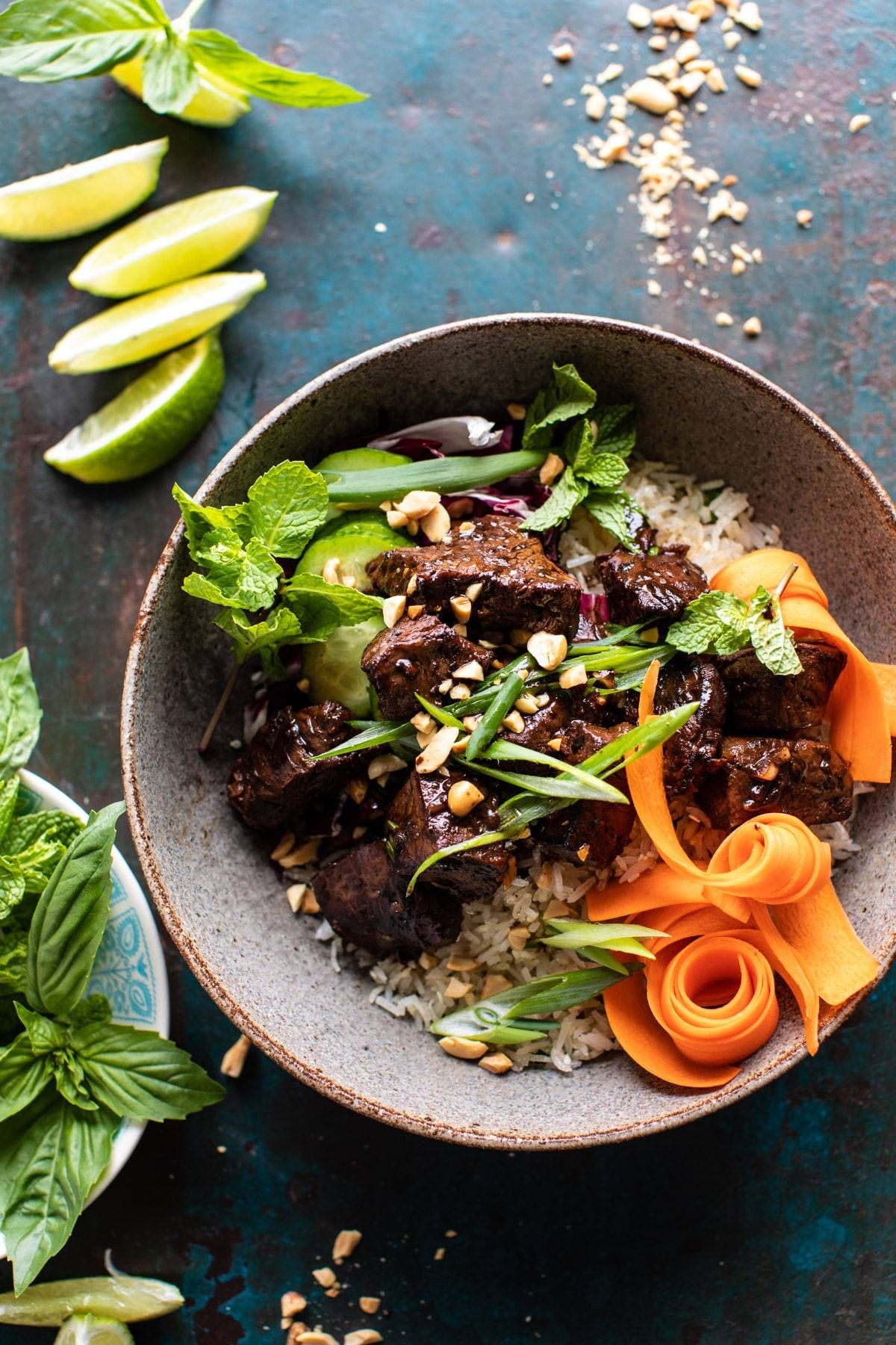 30 Minute Vietnamese Beef And Crispy Rice Bowl Half Baked Harvest Recipe In 2020 Rice Bowls Recipes Grain Bowl Recipe Half Baked Harvest Recipes