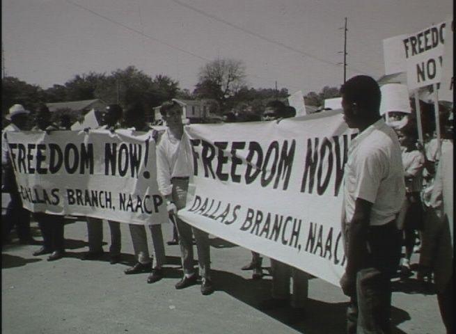 Civil Rights Demonstration In Austin 1963 Film Civil Rights Texas