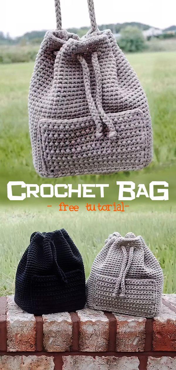 Crochet Bag #crochethandbags
