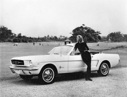 Photo of Ford Mustang from James Bond Goldfinger #bondcars #james #bond #cars