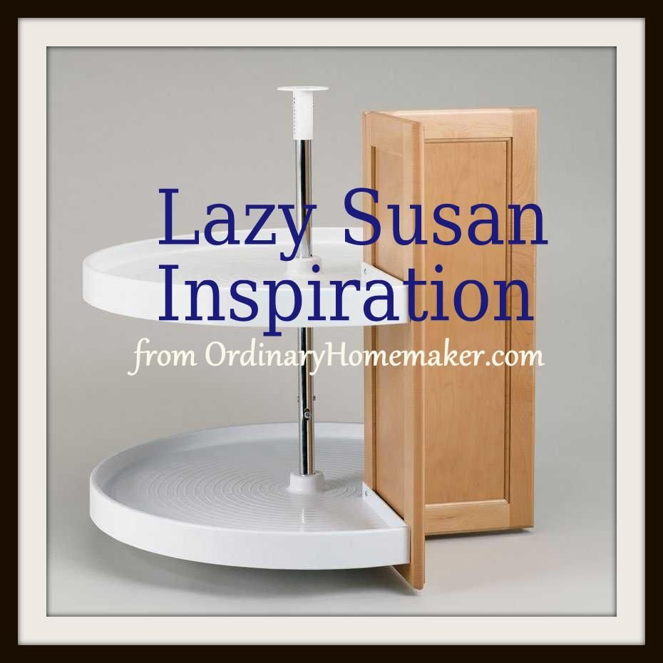 Exceptionnel Kitchen Lazy Susan Cabinet Cupboard Inspiration Via  Www.ordinaryhomemaker.com