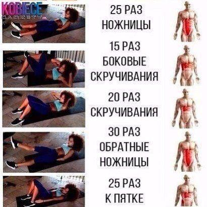 (94) Одноклассники | Упражнения, Спорт, Пресса