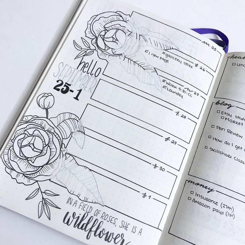 Massive List of Monthly Theme Ideas for your Bullet ...
