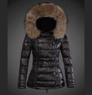 d86e2cc40177 solde Blouson Doudoune Moncler Pyrenex Femme Noir Blet paris   veste ...