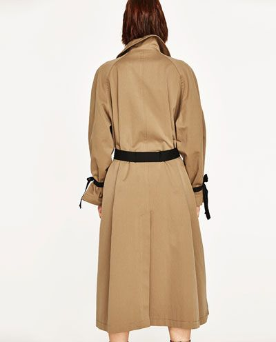 9d6c7be5 STUDIO TRENCH COAT WITH CONTRASTING BELT-Collection-STUDIO-WOMAN   ZARA  France