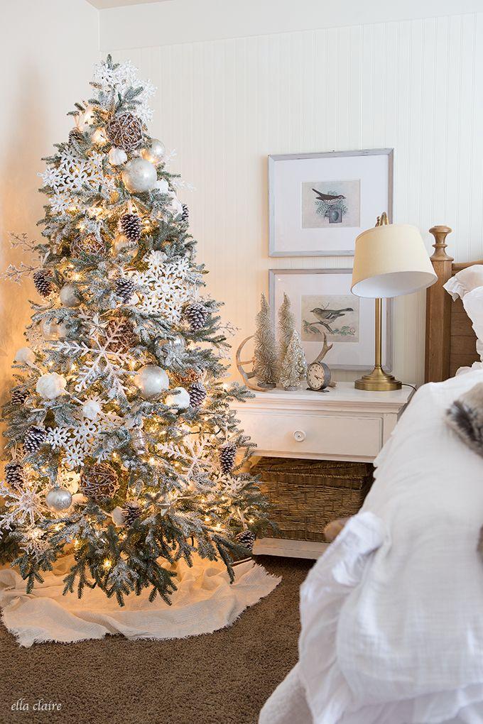Christmas Bedroom Christmas bedroom, Woodland christmas