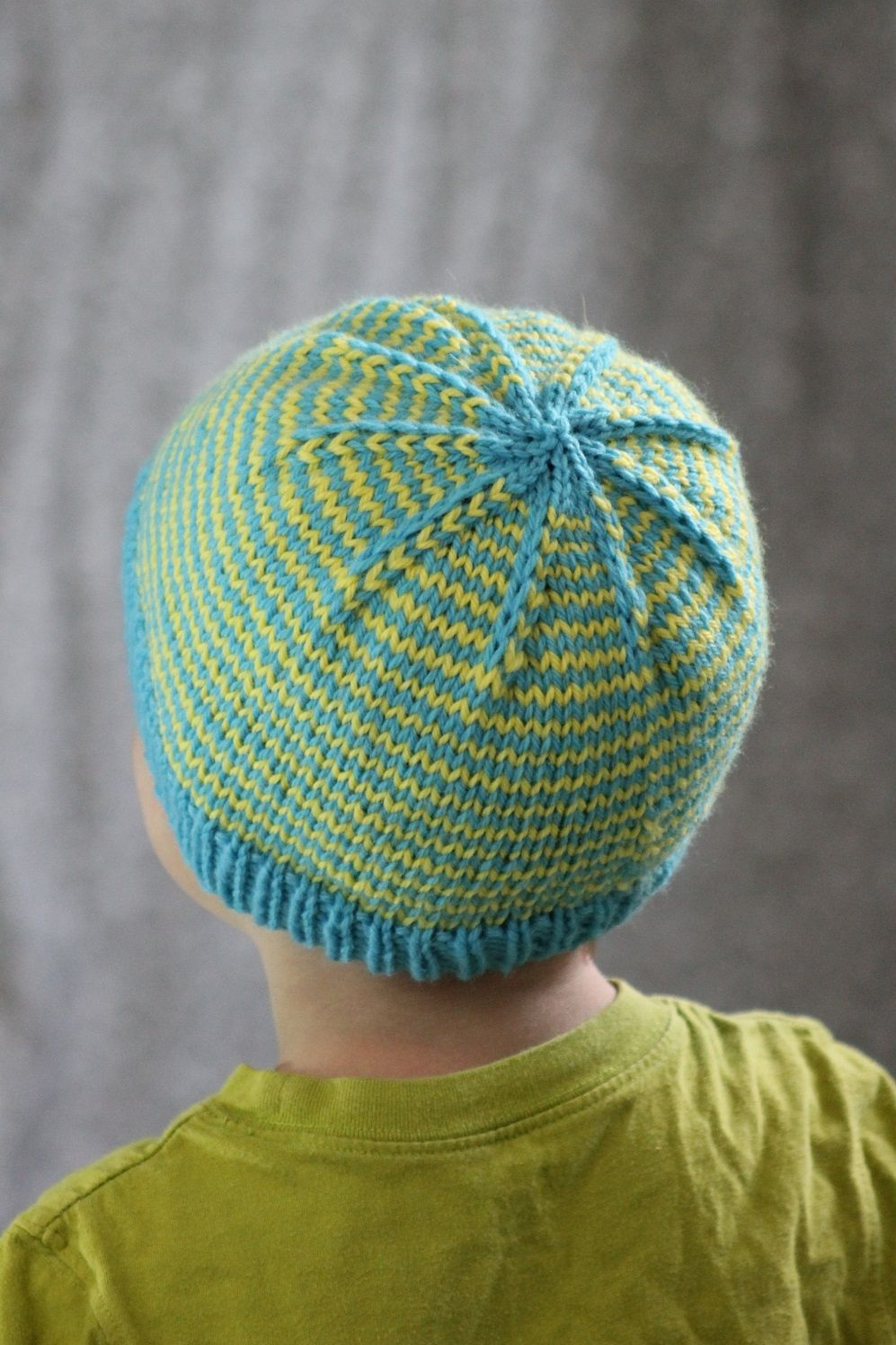 Free Knitting Pattern - Hats: Sunny Stripes Hat. Do with Nordic ...