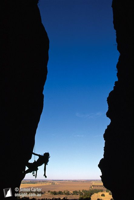 Climbing in Victoria, Australia. #travel #australia #downunder #downundertrip #bucketlist