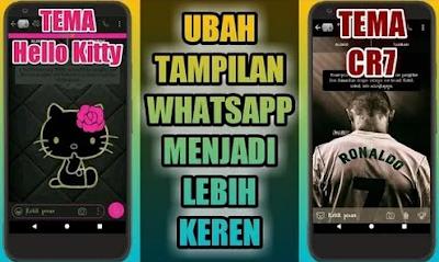 Cara Merubah Tampilan Whatsapp Hello Kitty Papan Aplikasi