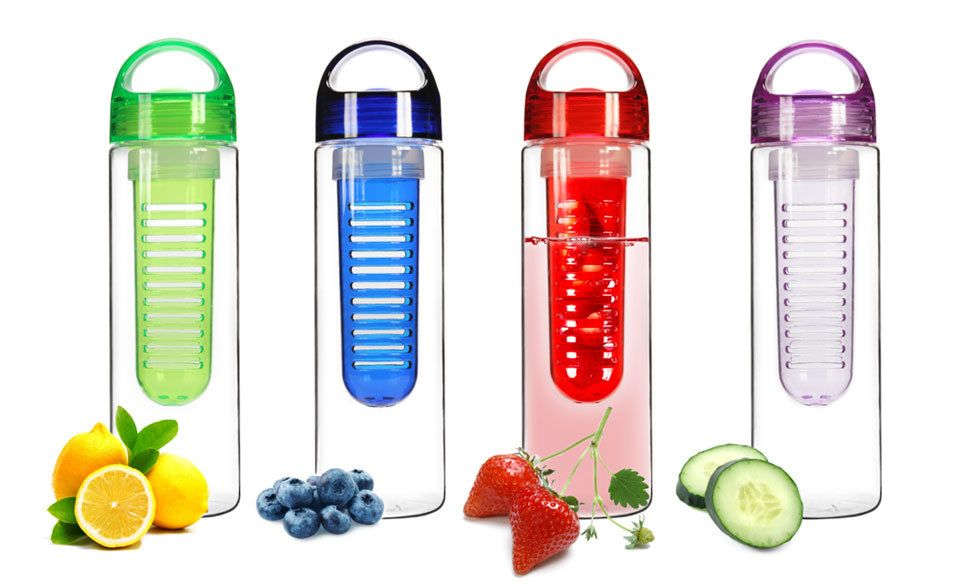The Tritan Infusion Water Bottle, A Portable Way to Infuse Water With Different Flavors