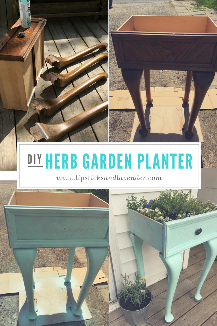 Diy herb garden planter add some charm with this do it yourself diy herb garden planter add some charm with this do it yourself project solutioingenieria Image collections