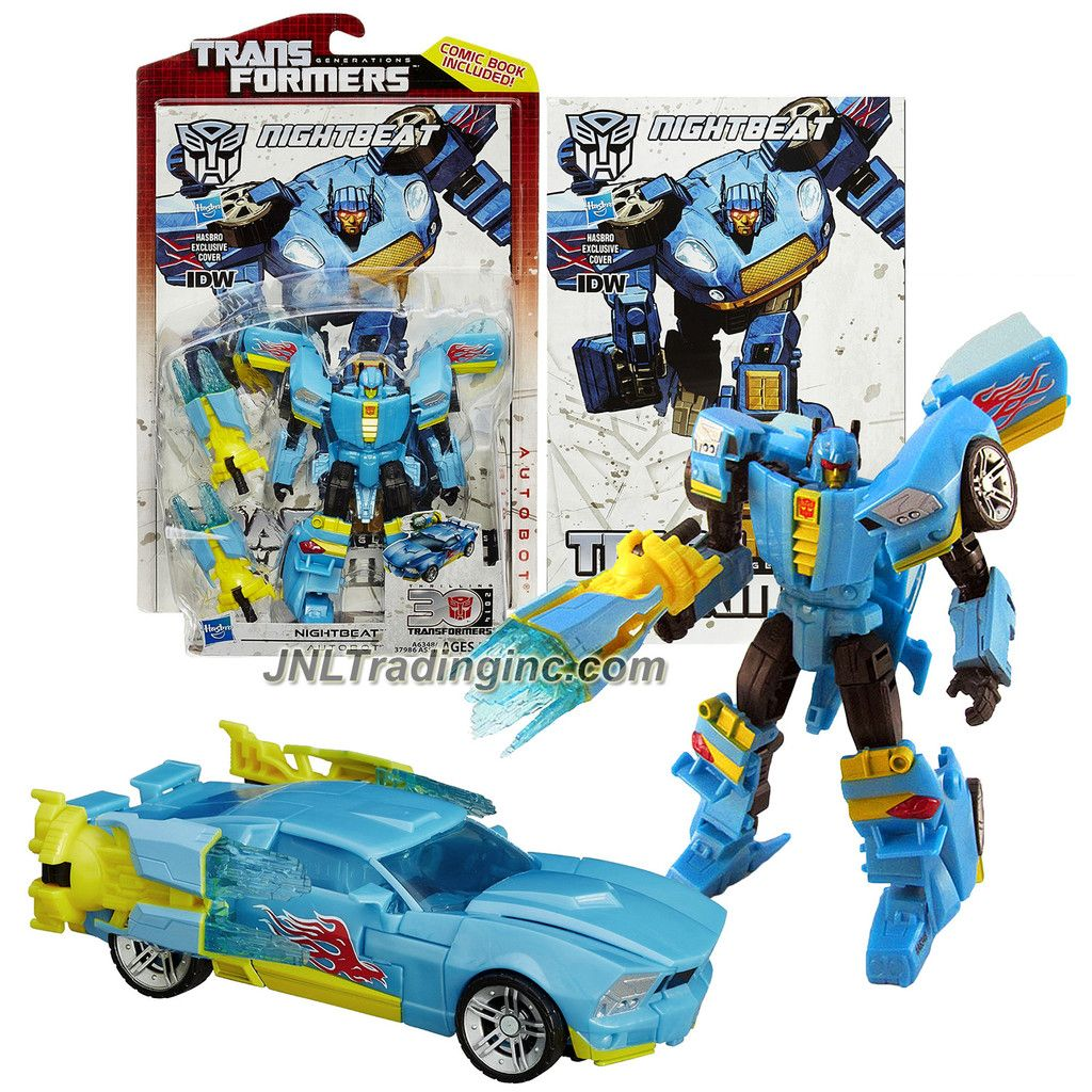 Transformers Generations Thrilling 30 with Comic Book Autobot Scoop Figure
