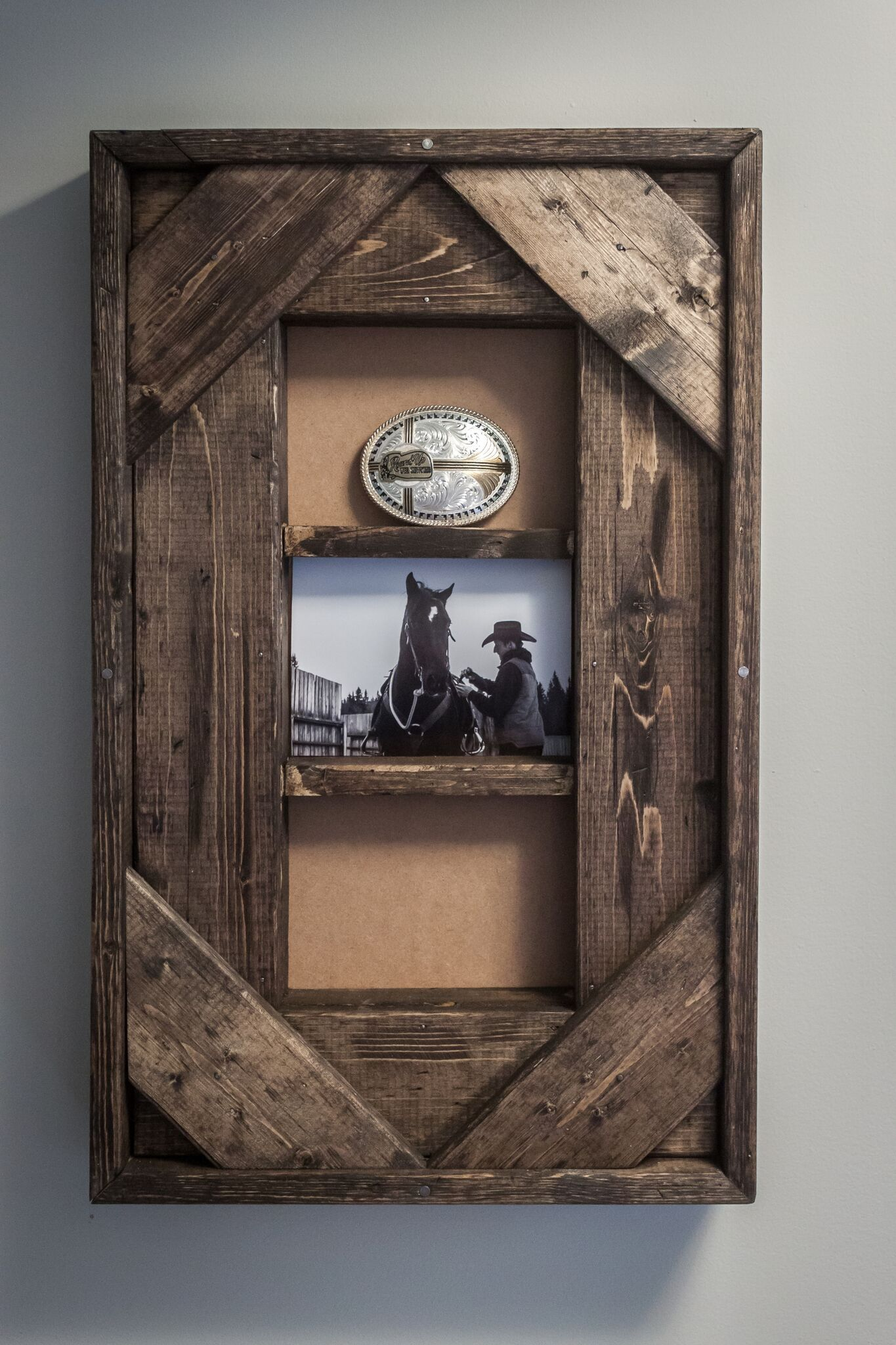 Marcos Para Cuadros Rusticos Belt Buckle And Photo Display Madera