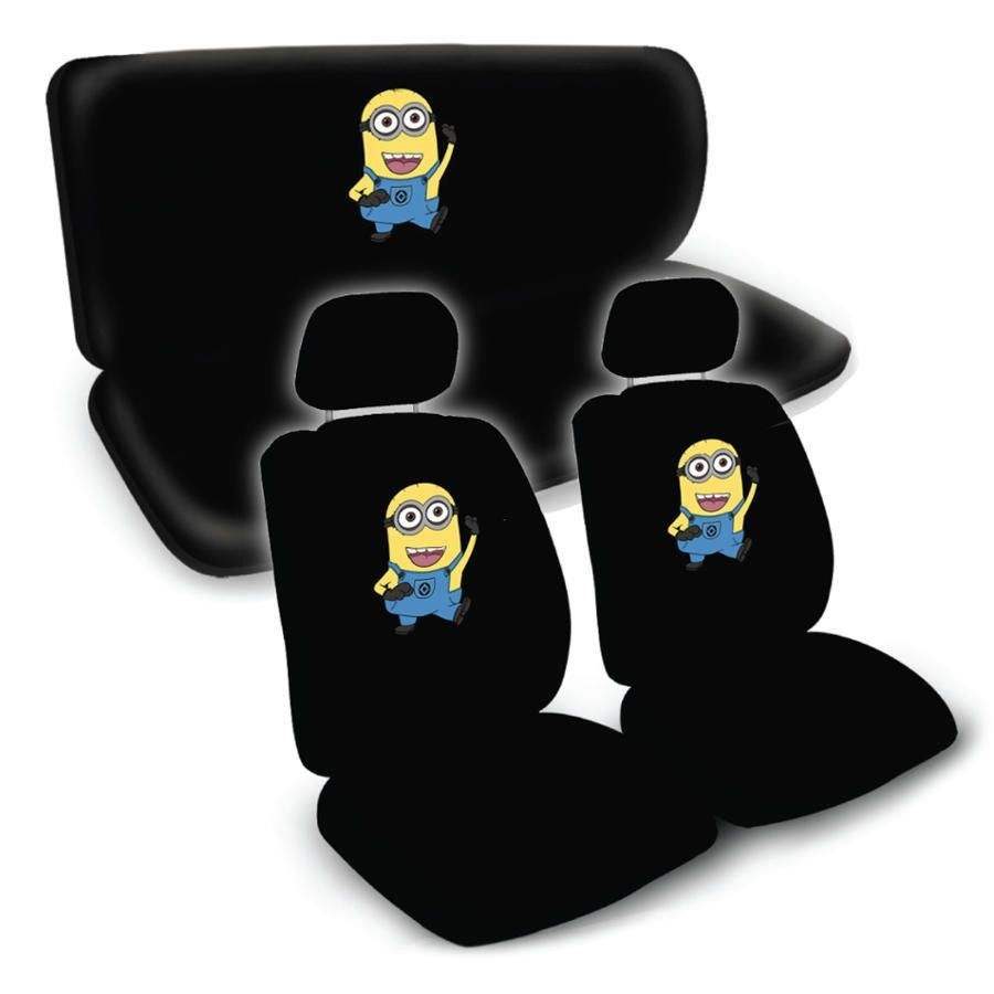 Despicable Me Minion Seat Covers