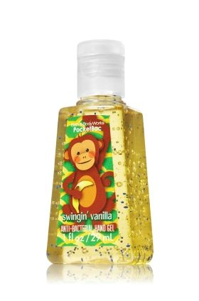 Monkey Banana Pocketbac Sanitizing Hand Gel Anti Bacterial