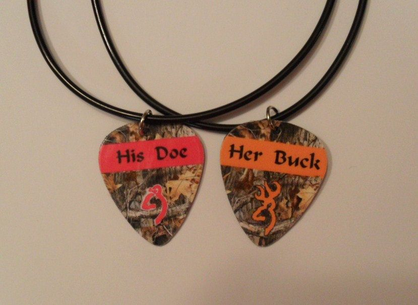 His Doe And Her Buck Necklaces September 2017