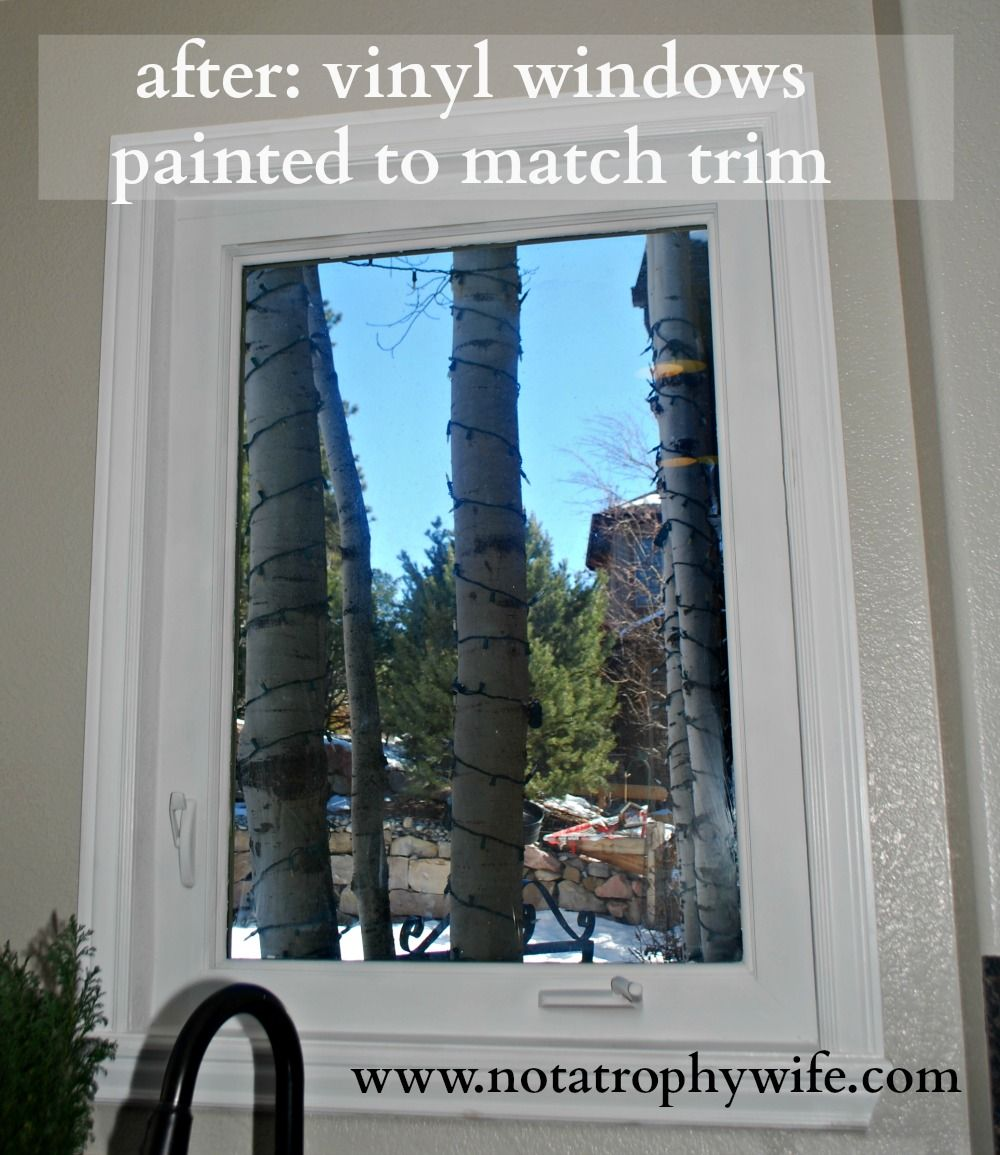 How To Paint Vinyl Windows Mancave Painting