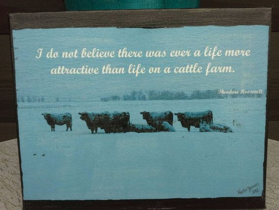 Check out this item in my Etsy shop https://www.etsy.com/listing/205901922/sale-8x10-canvas-photograph-cattle-ranch
