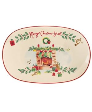 Lenox Dinnerware, Holiday Inspirations & Illustrations Merry Christmas Y'all Tray. Lenox Dinnerware, Holiday Inspirations & Illustrations Merry Christmas Y'all Tray Home - Dining & Entertaining Tableware - Serveware. Price: $19.99