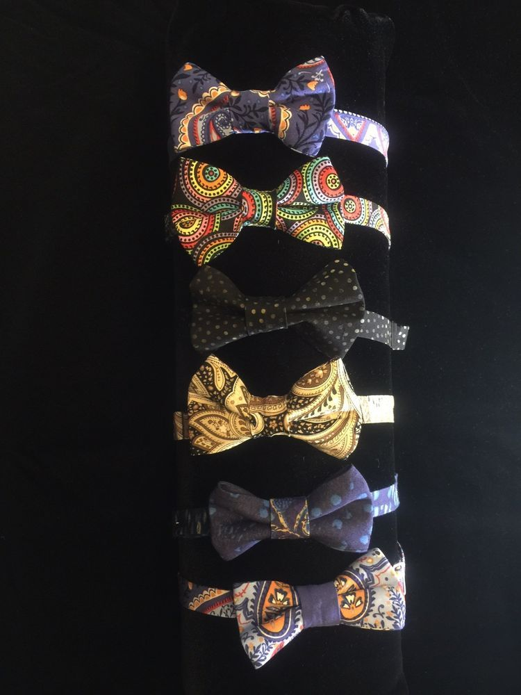 Boys Children Kids Wedding Party Tuxedo Bow Tie Adjustable Pre-Tied Bow Ties  .