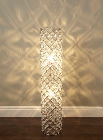 lattice cylinder floor lamp floor lamps lighting bhs living