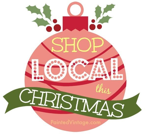 shop local this Christmas | Shop Local Graphics | Pinterest