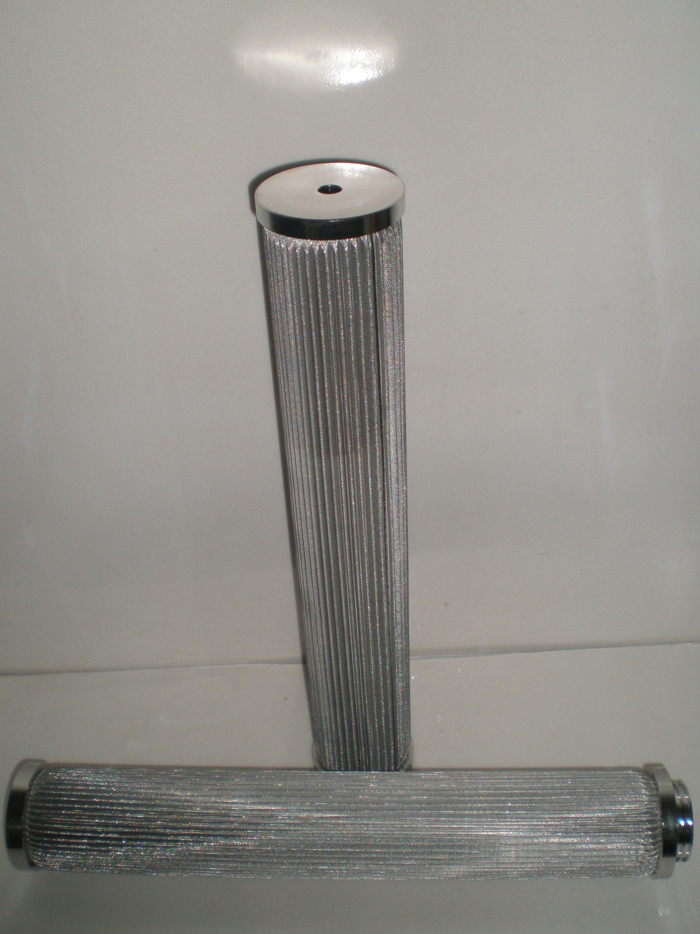 sintered screen filter element used in natural gas and
