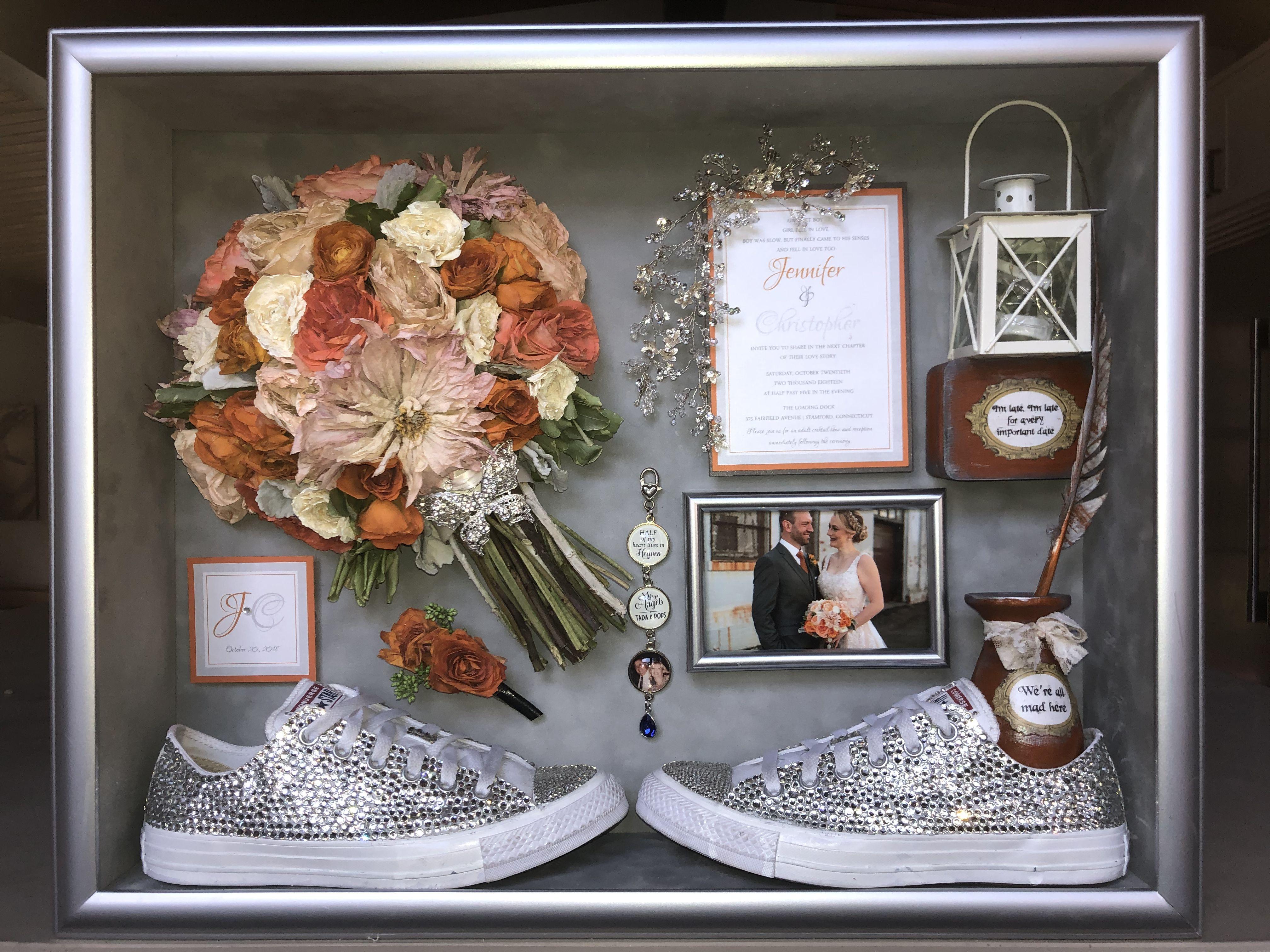 Keep your wedding bouquet alive floral preservation