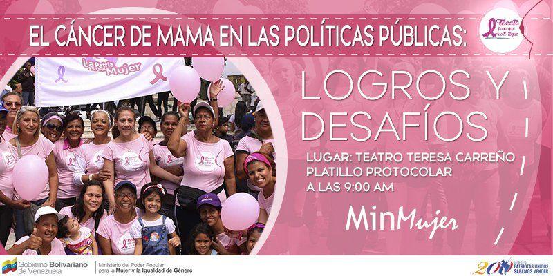 @HogarDeLaPatria : RT @MinMujer: Mañana no te pierdas el foro--> El Cáncer de Mama en las Políticas Públicas: logros y desafíos en el Platillo Proto https://t.co/zS6vY3coXc